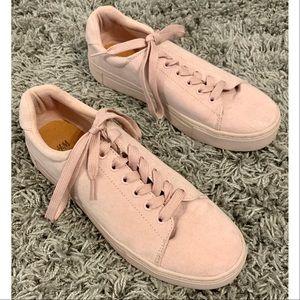 H&M Pale Pink Sneakers